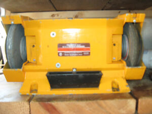 Heavy Duty Bench Grinder 15 inches long 8 amps motor 2- 6 inch