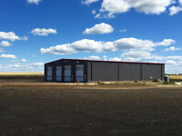New steel Frame Shop for Lease