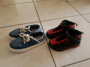 ZARA Toddler shoes and AND1 shoes