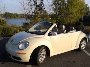 2007 Volkswagen New Beetle Convertible Cabriolet