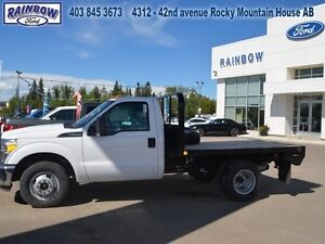 2015 Ford F-350 Chassis Cab XL - 4X2 - Flat Deck Not Included  -