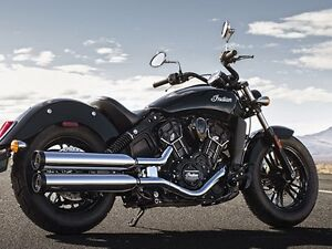 2017 Indian Scout Sixty Thunder Black