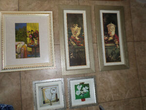 Moving-  selling wall pictures
