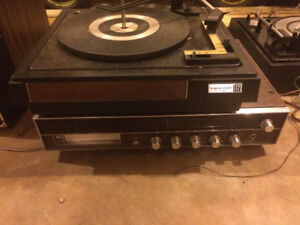 Record player and 8track player