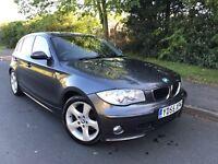 2006 BMW 1 SERIES 118i SPORT 5 DOOR HATCHBACK * LOW MILES* SERVICE HISTORY* LONG MOT*