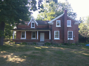 Large Century Home in the Country for Rent Newly Renovated