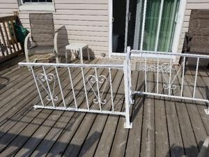 Aluminum railings for your steps