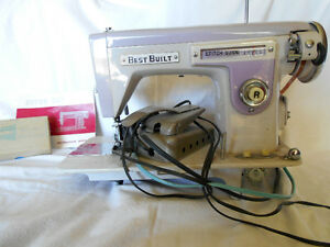 Vintage Purple Best Built Sewing Machine