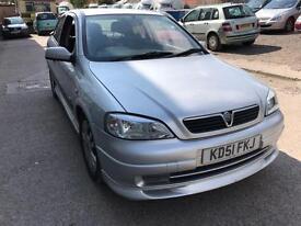 Vauxhall Astra 2.2i 16v SRi 3 DOOR - 2002 51-REG - 8 MONTHS MOT