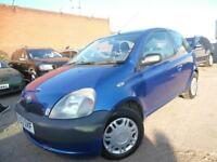 TOYOTA YARIS GS 1.0 PETROL ONE OWNER 12 MONTHS MOT