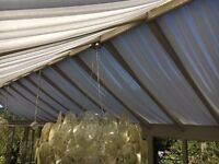 Conservatory roof blinds ceiling curtains