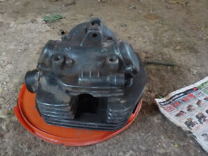 Cylinder head, piston, cam, top head, valves for 1986 Bayou 300