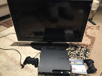 Samsung LCD TV 32'' with PS3 $200 OBO