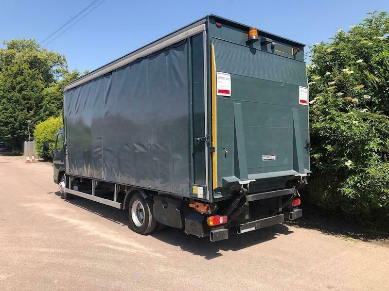 2013 Mitsubishi Canter 7C18 47 CURTAIN SIDE - TAIL LIFT - Grey - 7 5 Ton  truck | in Melton Mowbray, Leicestershire | Gumtree