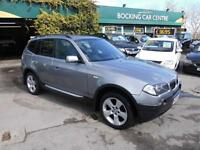 BMW X3 3.0i auto 2005 SE 4X4 LUXUARY FULL LEATHER