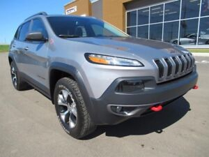 Jeep Cherokee Trailhawk | 4x4 | Leather | Navigation  2016