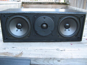 SONY CENTER CHANNEL WITH SOFT DOME SILK TWEETER Kitchener / Waterloo Kitchener Area image 2