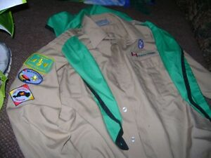 TWO COLLECTABLE BOY SCOUT SHIRTS