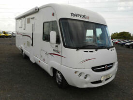 Rapido 9090F, 2008 (08), fabulous fixed island bed, 4berth A-class in Cardiff