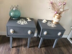 Beautiful Vintage Side/End Tables