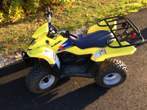 Suzuki LT-Z 50 ATV with remote shut off