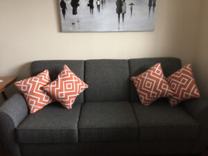 Toss Cushions - Two sets of four ($30 per set)