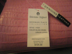 Sac en cuir NEUF <<<Etienne Aigner>>> Genuine Leather Bag NEW West Island Greater Montréal image 2