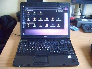 Laptop HP nc6400 Ordinateur Portable Windows 7
