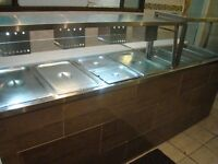Milvan Commercially Manufactured Steam Table