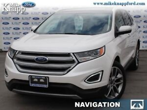 2015 Ford Edge Titanium  - Leather Seats -  Bluetooth