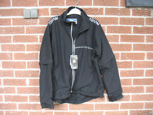 Asham Black Curling Jacket size S  SMALL  New with tags ,