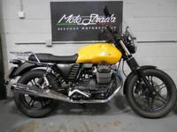 "MOTO GUZZI V7 2 ""STONE"" YELLOW 2015 15. SOLD,"