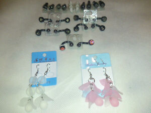 New Style Spike, Diamond, Hook Earrings