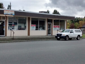 Excellant Commercial Space, Lake Cowichan, Lease or SELL