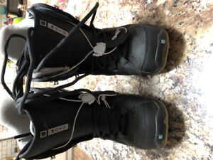 Snowboarding boots and rollerblades