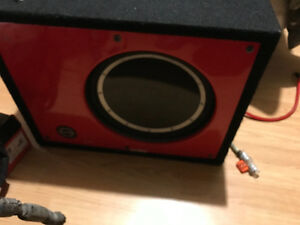 Sub an amp