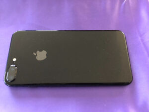 IPhone 7+ JET BLACK EDITION MINT CONDITION with OTTERBOX.