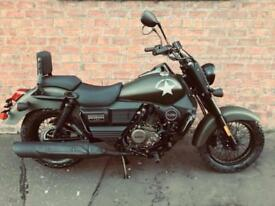 NEW UM Renegade Commando 125 learner legal own this bike for only £11.11 a week