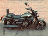 NEW UM Renegade Commando 125 learner legal own this bike for £13.34 a week