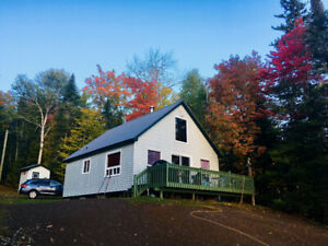 Waterfront Cottage for sale, on Eel River Lake, NB, Canada