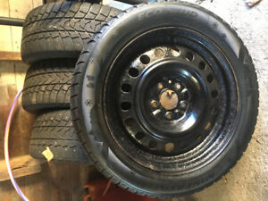 "Studded Tires 17"" 114.3 Bolt Pattern On Rims"