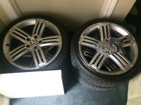 Vw golf R rims 2012 with tires