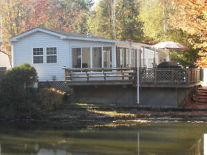Seasonal RV in 5* park - Wasaga Countrylife - 3 bdr - pond view