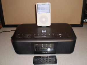 iHome iD95 Stereo System FM Radio with Remote