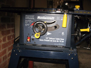 """10"""" Deluxe Table Saw with Stand"""