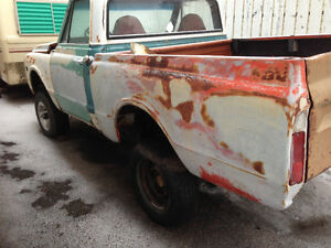 Pickup Box for 1967 - 72 Chev truck .