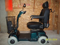 Fortress 1700 Electric 4w chair / Quadriporteur Fortress 1700