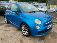 2014 Fiat 500 1.2 S 3dr ABARTH LOOKS CHEAP INSURANCE HATCHBACK Petrol Manual