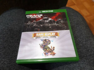 GEARS OF WAR + RARE REPLAY POUR XBOX ONE 20$
