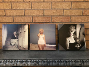Marilyn Monroe Canvas Wall Prints